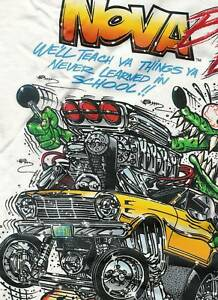 Rat Fink Nova Chevy Chevrolet T Shirt Big Daddy Ed Roth