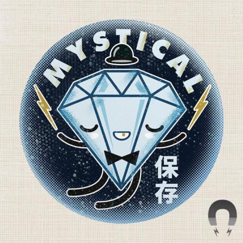 MYSTIC DIAMOND MAGNET BADGE BOMB