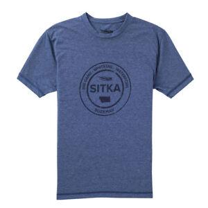 Sitka Seal Tee à manches courtes 20083-NV Bleu Marine Toutes Les Tailles-afficher le titre d`origine yrOgYNxU-07163839-254836196