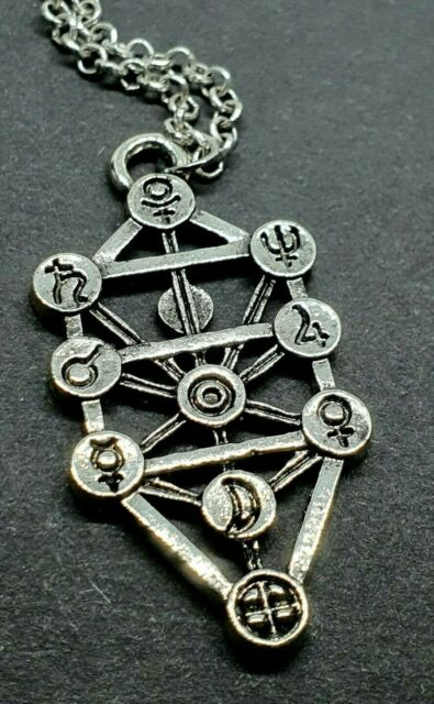 Kabbalah Tree Of Life Geometric Silver Pendant Jewish Sefirot Necklace Jewellery For Sale Online It usually consists of 10 nodes symbolizing different archetypes and 22 lines connecting the nodes. kabbalah tree of life geometric silver pendant jewish sefirot necklace jewellery