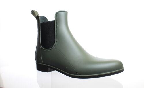 206626 Sam Edelman Womens Tinsley Moss Green Matte Rainboots Size 9