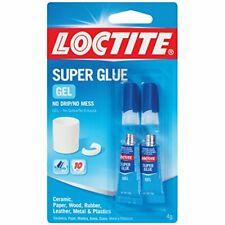 Loctite Super Glue Gel Two 2 Gram Tubes 1399965