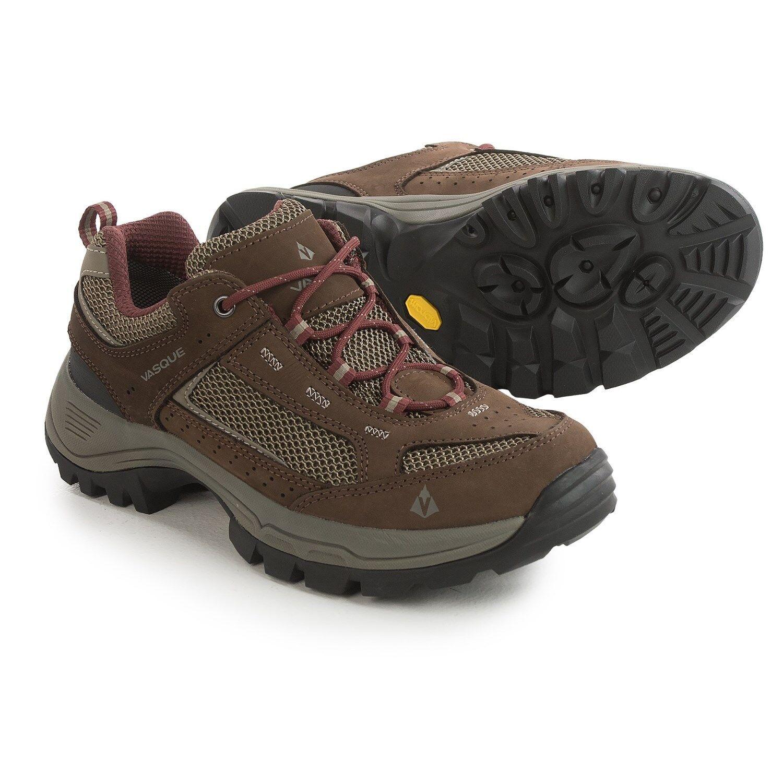 New Women`s Vasque Breeze 2.0 Gore-Tex Low Hiking shoes Brown Red MSRP 150
