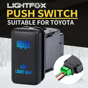 LED Work Light Push Rocker Switch Hilux Landcruiser Replacement OEM