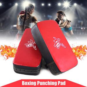 MMA-KAMPFSPORT-BOXEN-TAEKWONDO-KICK-FUss-ZIEL-STREIK-PAD-BOXSACK-ARM