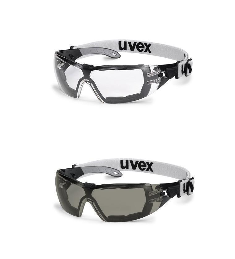 Uvex Pheos Garde Sv Extrême Lunettes de Transparent Sécurité Casque  Transparent de Verre Fumé f4801b c54172240686