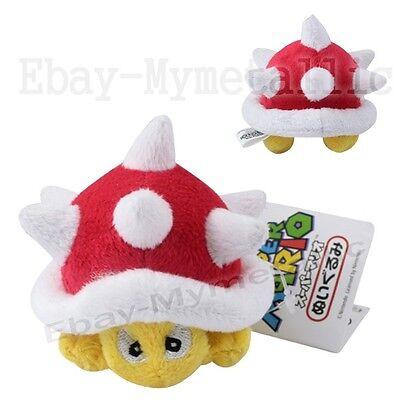 """SUPER MARIO BROS Turtle Gloomy 6cm/2.4"""" Soft Plush Stuffed Doll Toy"""