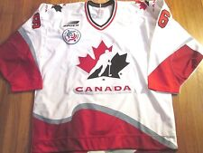 TEAM ISSUED BAUER 1996 WORLD CUP OF HOCKEY CANADA EDDIE JOHNSTON JERSEY SIZE 54