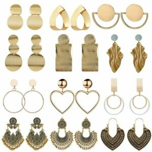Fashion-Statement-Metal-Geometric-Earrings-For-Women-Boho-Dangle-Modern-Jewelry