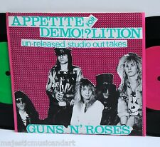 "GUNS N ROSES APPETITE FOR DEMOLITION EP 2x 7"" VINYL 404 OF 500 RARE! 1988 ORIG."