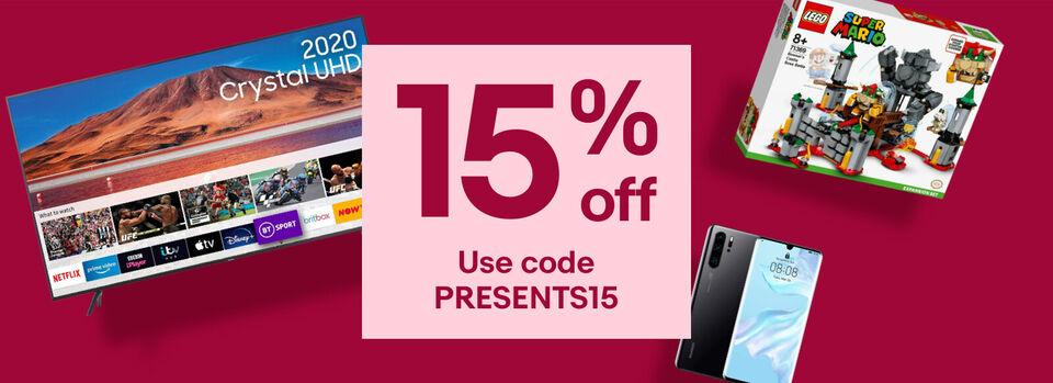 - Christmas gifting with 15% off