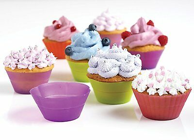 Mastrad A44355 Silicone Muffin Baking Cups, Set of 12 units - Ships Free US
