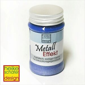 Metall-Effekt-Creme-in-Hell-Lila-90ml-Neu-Heike-Schaefer-Design