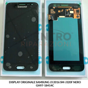 DISPLAY-LCD-TOUCH-SCREEN-ORIGINALE-SAMSUNG-GALAXY-J3-2016-SM-J320F-NERO-BLACK