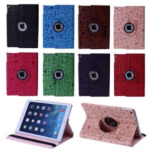 Cuir-360-Rotatif-Smart-Case-Cover-Apple-iPad-2-3-4-Stylet-SP