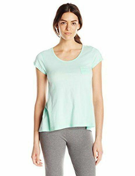 Hue Pajama Top Lace Trim Pocket Scoop Neck Short Sleeve Women/'s Size XL NWT $40