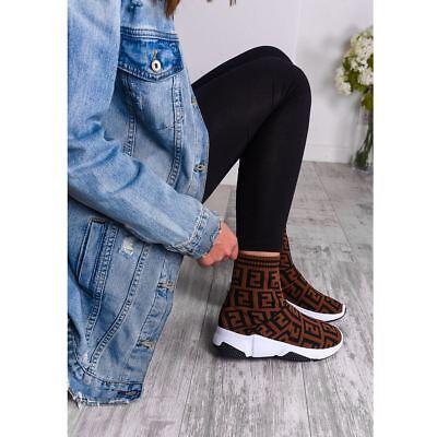 Womens Ladies Sock Sneakers Trainers