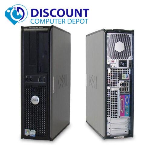 """Dell Optiplex Desktop Computer 4GB 500GB Core 2 Duo Windows 10 PC 19/"""" LCD Wifi"""