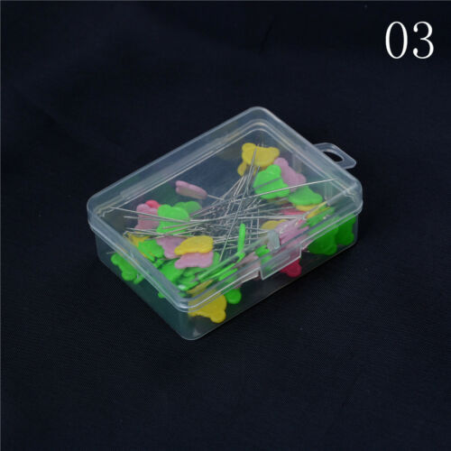 50x Patchwork Pins Flower Animal Head Pins DIY Quilting Tool Sewing AccessoryFO