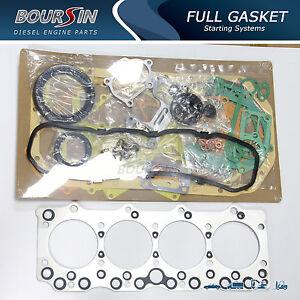 engine full gasket set fits gmc forword w3500 w4500 4bd2 3. Black Bedroom Furniture Sets. Home Design Ideas
