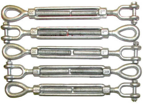 Hot Dipped Galvanized Steel Turnbuckles Eye Jaw Hook Turnbuckles Drop Forged