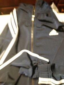 ADIDAS-3-Stripes-ORIGINALS-women-039-sBlue-Full-Zip-Firebird-Track-Jacket-Medium