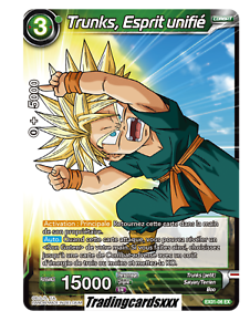 Dragon Ball Super Card Game Son Goten Esprit Unifié EX01-05 VF//FOIL