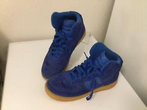 Details about Nike Air Force 1 High '07 LV8 BlueGum 806403 400 SZ 10