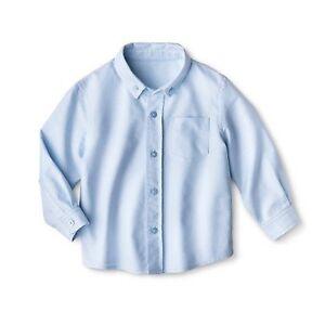 625fdbbd Cherokee Toddler Boys' School Uniform Long-Sleeve Oxford Powder Blue ...