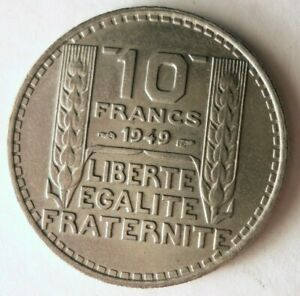 1949-Francia-10-Francos-Excelente-Moneda-Ganga-Bin-169