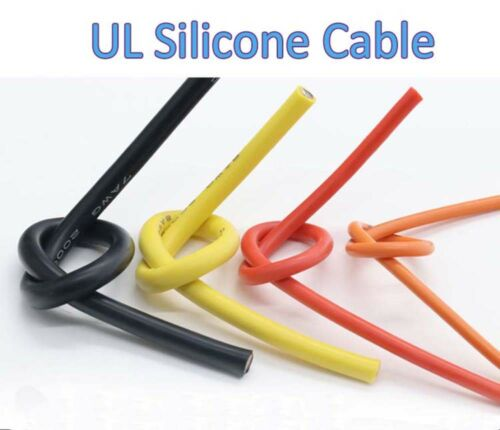 12AWG UL Silicone Cable Flexible Wire 0.08MM RC Cable Resistant High Temperature