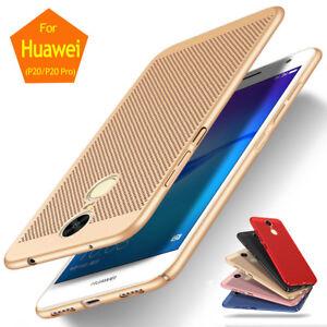 Pour-Huawei-P20-Pro-Mince-Difficile-Plastique-Respirant-Antichoc-Etui-Coque-Case
