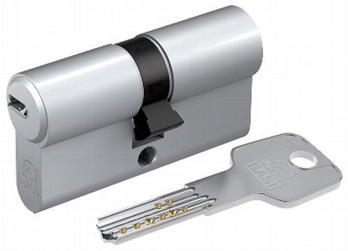 Basi BM Profildoppelzylinder 30/85mm gleichschließend+3 Bohrmuldenschlüssel GL40