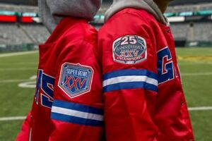 new arrival 997ac 38d6e Details about Packer Shoes Giants Starter Jacket 2XL LIMITED ED. - 25th  Anniversary Superbowl