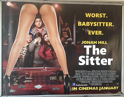 Cinema Poster: SITTER, THE 2012 (Quad) Jonah Hill Ari Graynor Sam Rockwell