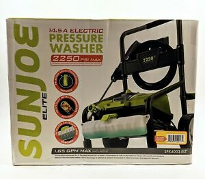 NEW Sun Joe Electric Pressure Washer | 2200-Max PSI | 1.6 GPM | 14.5-Amp Motor