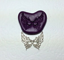 Silicone Mold Butterfly Female Mask Masquerade Mould M (32mm) Sugarcraft Jewelry