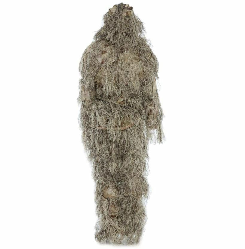 Hunting Ghillie Suit 3D Camoflague Woodland Clothes Shooting Camo One Size