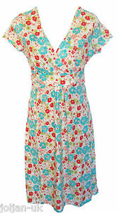 NEW-LADIES-BODEN-FLORAL-PRINT-COTTON-JERSEY-DRESS-SIZE-8-10-12-14-16-18-BNWOT