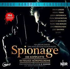 Spionage * CD Hörspiel Krimi 10-Teile mp3-CD Pidax Neu Ovp