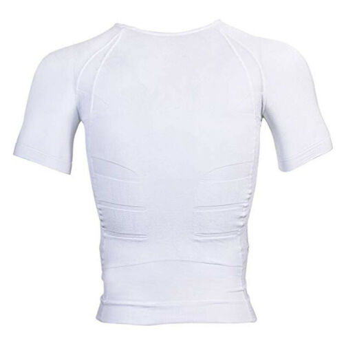Men Waist Trainer Vest Sauna Sweat Body Shaper Tank Top Slim Trimmer Shirt Gym