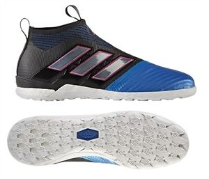 online store 2f3fb c74a5 Details about Adidas Ace Tango 17+ Purecontrol Soccer Shoes Cleats IC TF  Blue/Black BY2820 X