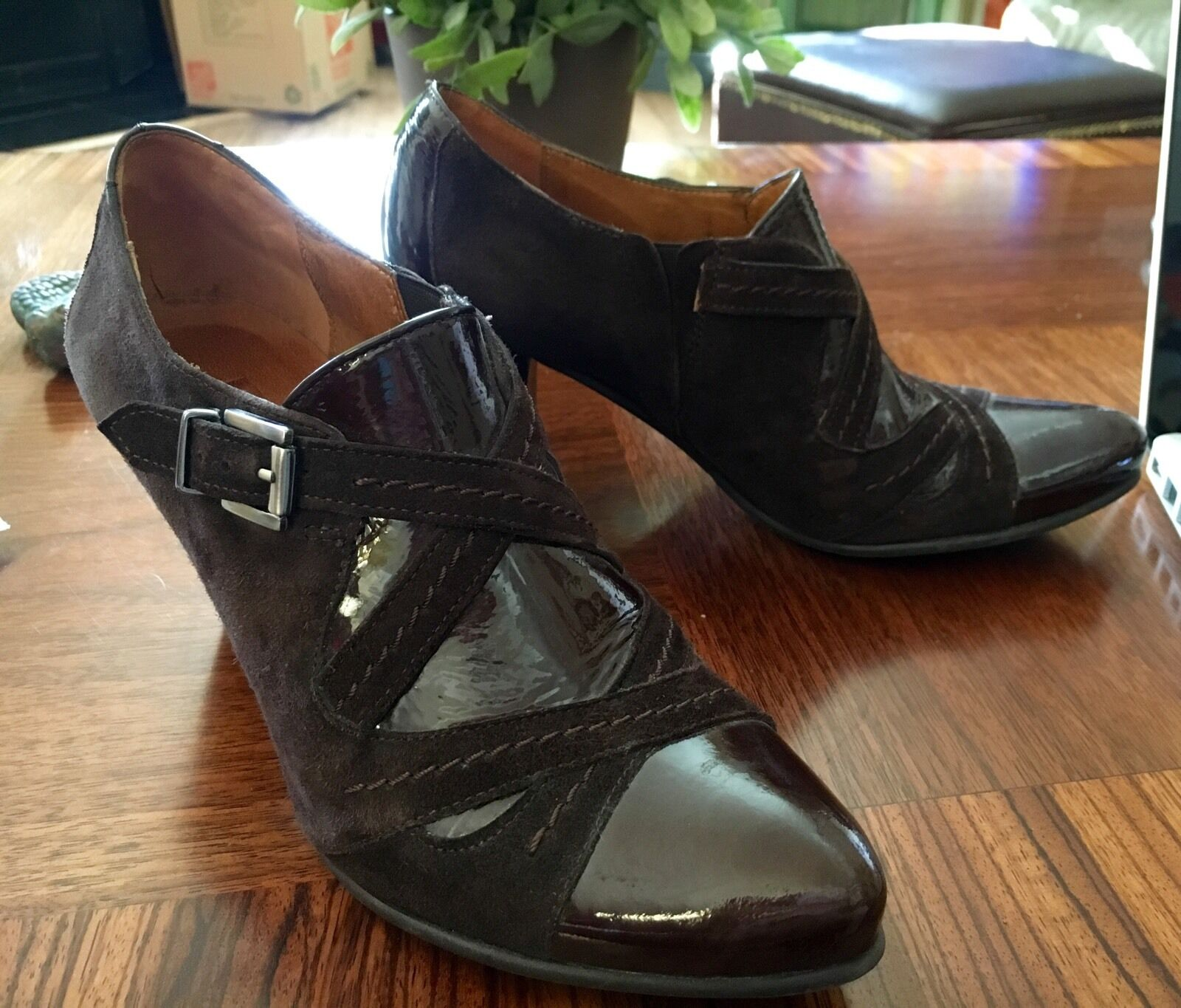 Unique Fidji scarpe Dimensione 37 Made in Portugal Worn Only Once