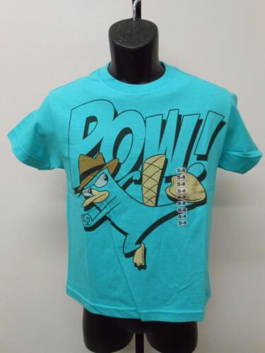 """Shirt 8-10//12-14//16-18//20 New Phineas /& Ferb /""""Pow/"""" Youth Sizes S-M-L-XL"""