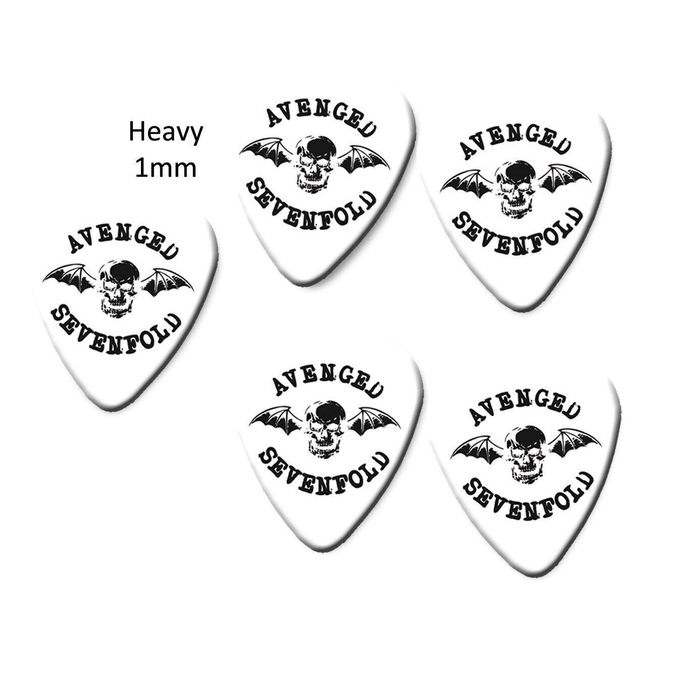 Avenged Sevenfold  Colour Printed Guitar Pick Plectrums Picks