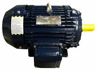 1.5 hp electric motor 143t 3 phase 3600 rpm severe duty high efficient 230/460