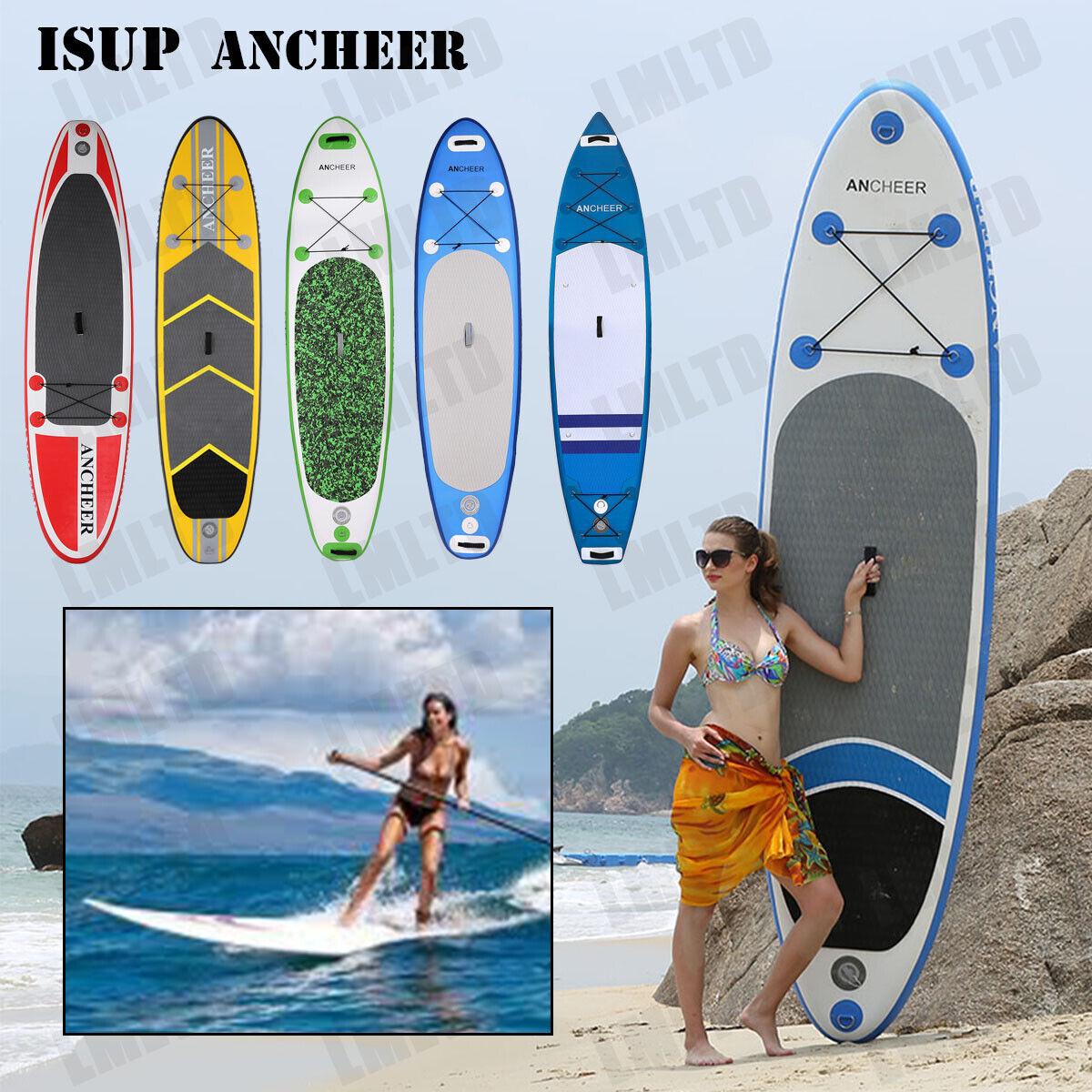 Surfboard Stand Up Paddle SUP Board Paddelboard Paddling aufblasbar Paddel ISPU
