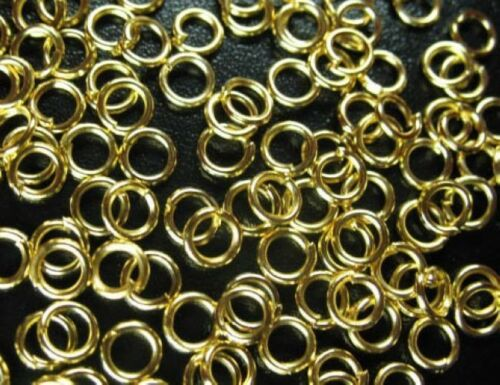 6 mm 10 mm Jump Rings Open Connectors 8 mm 7 mm 5 mm 4 couleurs 4 mm