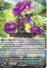 CARDFIGHT VANGUARD CARD: LISIANTHUS MUSKETEER, LORAINE - G-CHB01/036EN R