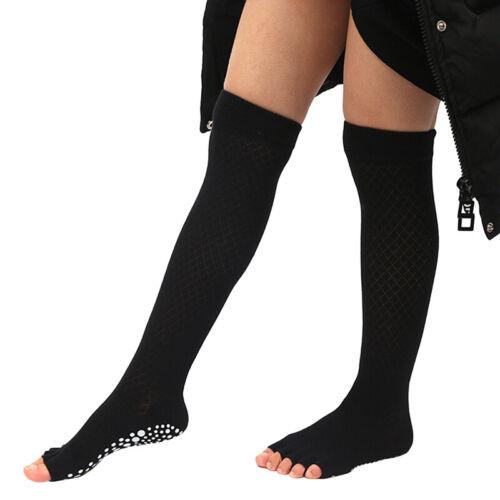 Women Girl Long Over Knee Thigh High Sport Tube Socks Dance Yoga Sock S